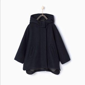 Zara Hooded cape